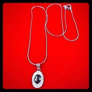 ❤️Day 🎁! Swarovski Crystals, 925 silver necklace